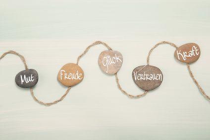 Psychologie: Mut, Glck, Vertrauen, Kraft und Freude